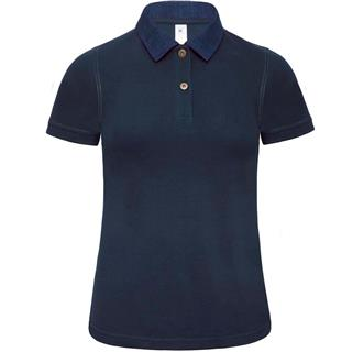 Ž.polo majica FORWARD; denim/t.mod; M